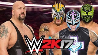 Big Show vs Kalisto, Sin Cara and Rey Mysterio