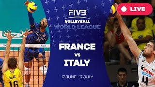 France v Italy - Group 1: 2016 FIVB Volleyball World League