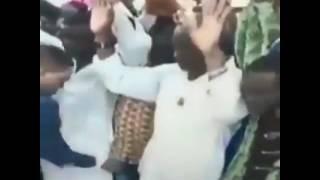 Derange African Pastor grabs men's penis in the name of Jesus