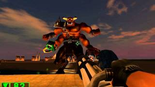 Serious Sam Classic: TFE Final Boss (Serious Difficulty) + Ending