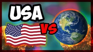 HOI4 | What If The USA Declared War On The Whole World? | Waking The Tiger [Hearts of Iron 4]