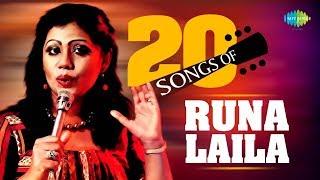 Best 20 Of Runa Laila | রুনা লায়লার সেরা ২০ | HD Songs | One Stop Jukebox