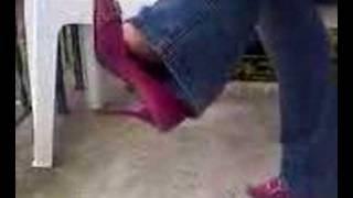 ex girlfriends moms feet dangle