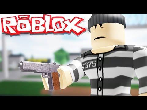 ROBLOX PRISON LIFE WE GET GUNS IN PRISON w Robbie Roblox