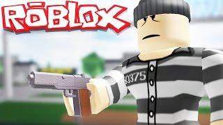 ROBLOX - PRISON LIFE - WE GET GUNS IN PRISON!! w/ Robbie Roblox