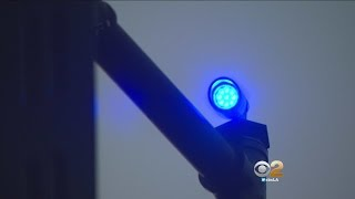 Santa Clarita Drivers Now Find A Blue Light On The Road
