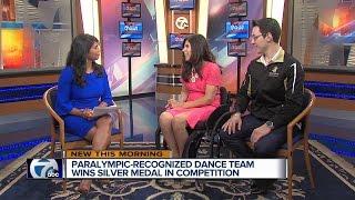Local dance team wins silver medal