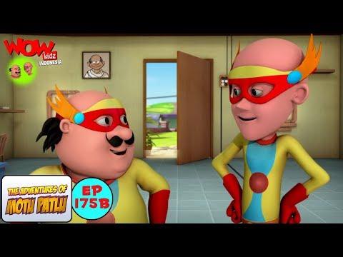 John Sang Pahlawan Super - Motu Patlu dalam Bahasa - Animasi 3D Kartun | WowKidz Indonesia