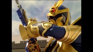 Solaris Knight First Morph and Fight (Power Rangers Mystic Force)