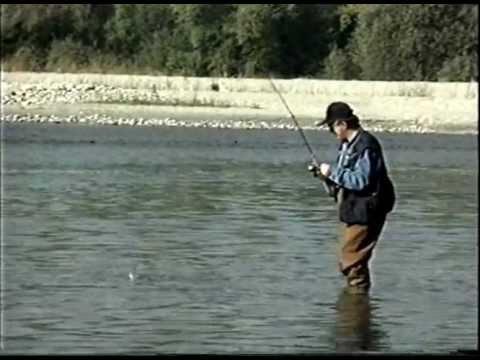 Pesca spinning alla Trota nella Dora Baltea