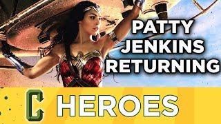 Patty Jenkins Returning For Wonder Woman 2