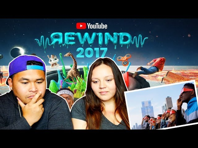 YouTube Rewind: The Shape of 2017   #YouTubeRewind   REACTION!