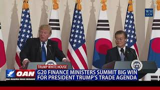 G20 Finance Ministers Summit Big Win for President Trump