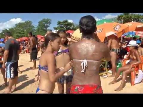 Praias de Outeiro atraem milhares de veranistas