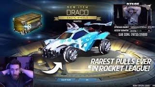 RAREST NITRO CRATE OPENINGS IN ROCKET LEAGUE!