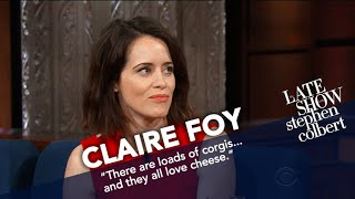 Claire Foy Says Corgis Are The Real Heroes Of