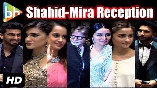 EVENT UNCUT: Wedding Reception Of Shahid Kapoor-Mira Rajput