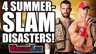 4 WWE Summerslam DISASTERS!   WrestleTalk