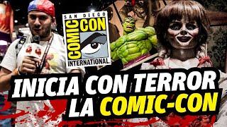 Inicio Comic Con 2017, Anabelle 2 y sus reacciones