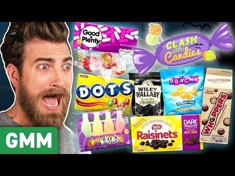 Worst Halloween Candy Taste Test Day 1