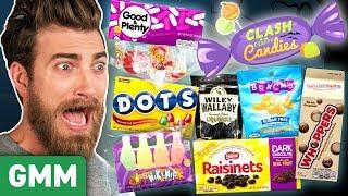 Worst Halloween Candy Taste Test (Day 1)