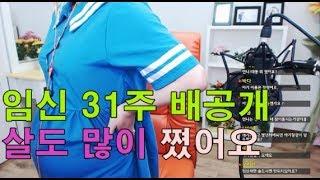 탈북인 손봄향 임신 31주 배공개♥