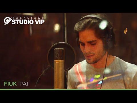 Backstage Vip Fiuk Gravação da música Pai