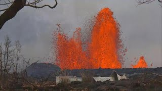 How Hawaii volcano and lava are changing the landscape