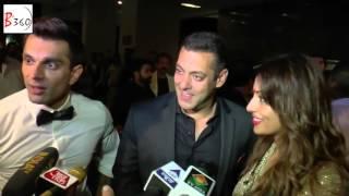Bipasha Basu & Karan Singh Grover's WEDDING RECEPTION   Salman Khan Interview