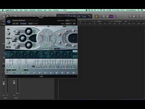 How to make a Reece bass using Logics ES2 synth