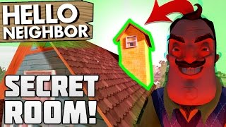 SECRET ROOM? LOW GRAVITY, 3RD & 4TH FLOOR!! | Hello Neighbor Gameplay (NEW UPDATE)