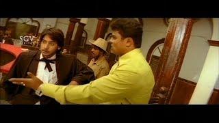 Lawyer Prajwal asking money from thief Client | Prajwal Devaraj Comedy Scene | Nannavanu Movie
