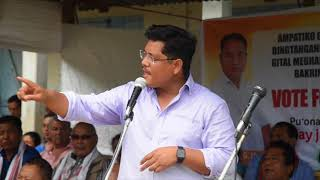People of Ampati are lucky: Conrad K. Sangma