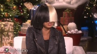 Sia Takes Off Her Wig For Ellen & Performs