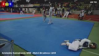 Aristeidis Kaimakamis GRE - Matvii Brukhnov UKR