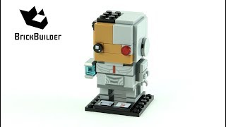 Lego BrickHeadz 41601 Cyborg - Lego Speed Build