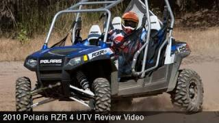 MotoUSA 2010 Polaris RZR 4 UTV Review