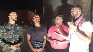 Naseeb Abbas With Awais, Ahmad Rubani, Tauqeer and Waseem In Marrakech
