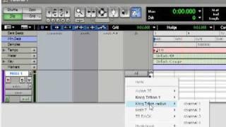 Tutorial: Pro Tools for Beginners 1: Midi Studio, I/O, and memory allocation.