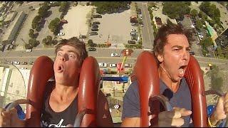 Myrtle Beach Sling Shot HD Funniest REACTION EVER!!!