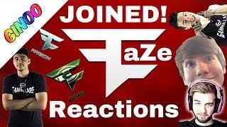All FaZe Members Reaction