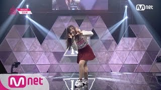 [Produce 101][Full] REDLINE Kim So Hye - ♬Somehow EP.01 20160122