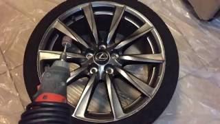 🔧Wheel Repair | Auto Repair HD Review | Damaged Rim Wheel Restoration DIY Steps OEM Alloy Wheels