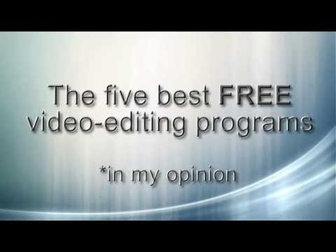 Best FREE video editing programs of 2016 - 2017