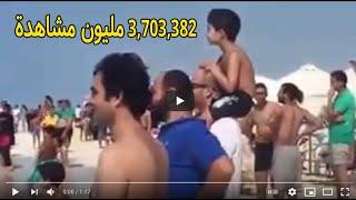 ظهور اسماك قرش بالسكندرية - فيديو واضح