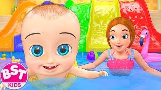 Swimming Pool Song   BST Nursery Rhymes & Songs For Kids