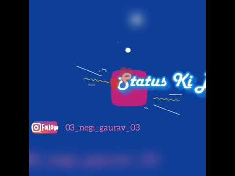 New WhatsApp status video   Best dialogue of Aashiqui 2    By Gaurav  