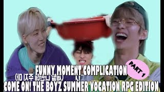 THE BOYZ  - FUNNY MOMENT COMPLICATION COME ON! THE BOYZ SUMMER VOCATION RPG EDITION PART 1