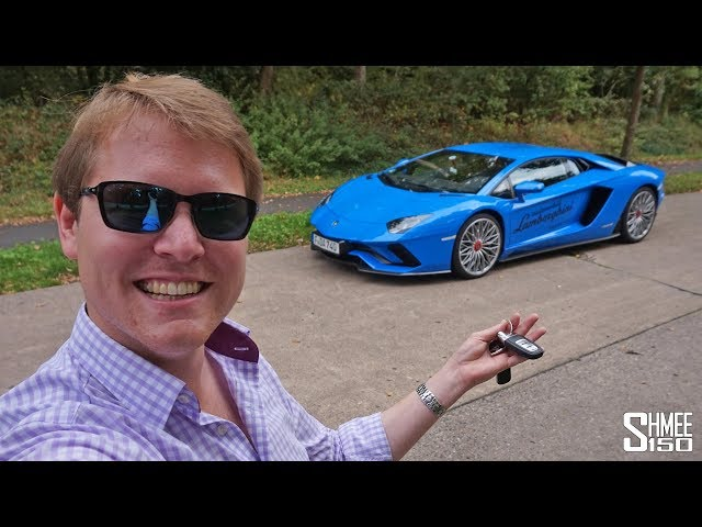300km/h Aventador S Test Drive on the Autobahn!   REVIEW