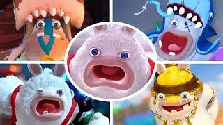 Mario + Rabbids Donkey Kong Adventure - All Bosses & Ending